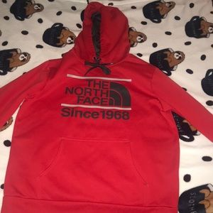 The North Face Red Hoodie